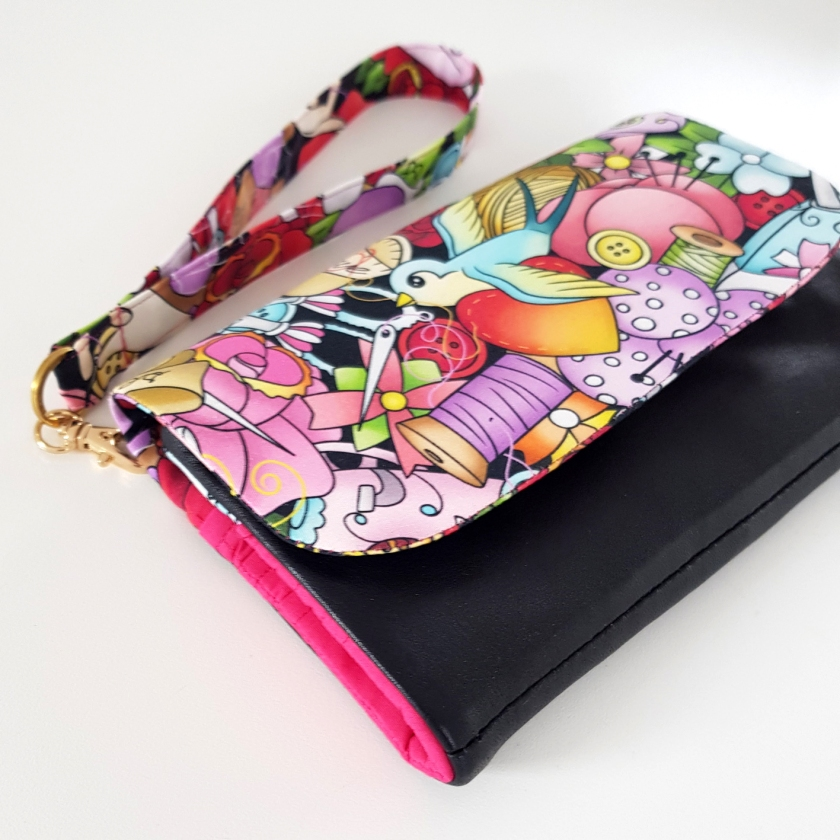 The Flip Clutch Wallet Sewing Pattern – Sew with SO