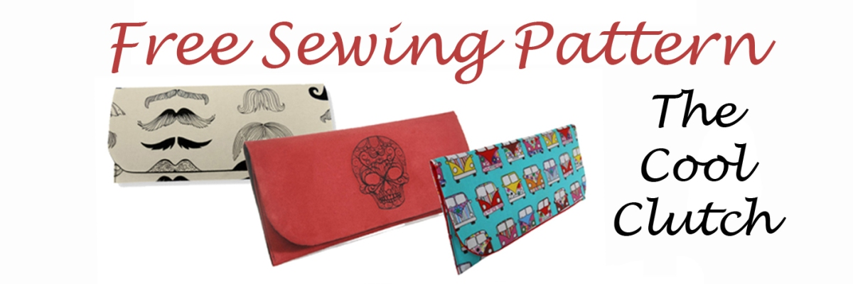 FREE SEWING PATTERN. The Cool Clutch